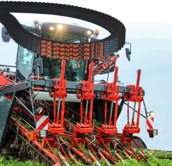Ferucom imports high quality carrot harvester belts